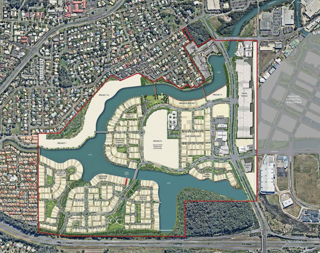Sunshine Cove Map